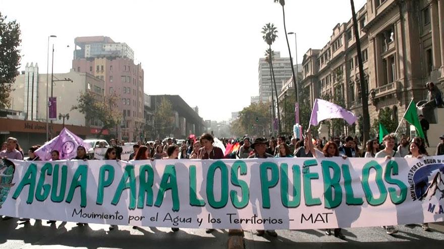 Movimiento Aguas y Territorios (MAT) en alerta frente a votaciones de la Convención