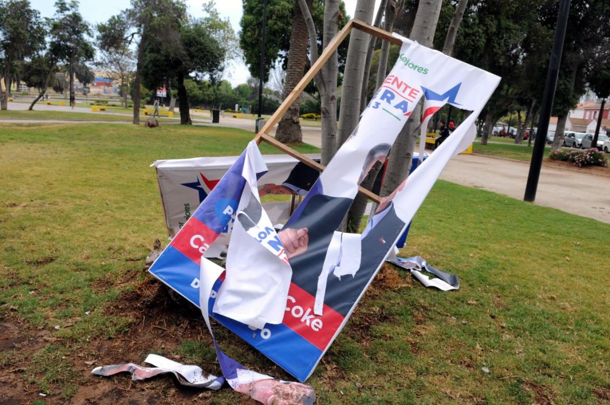 Prohibición del plástico en la propaganda electoral: Proyecto avanzó al Senado