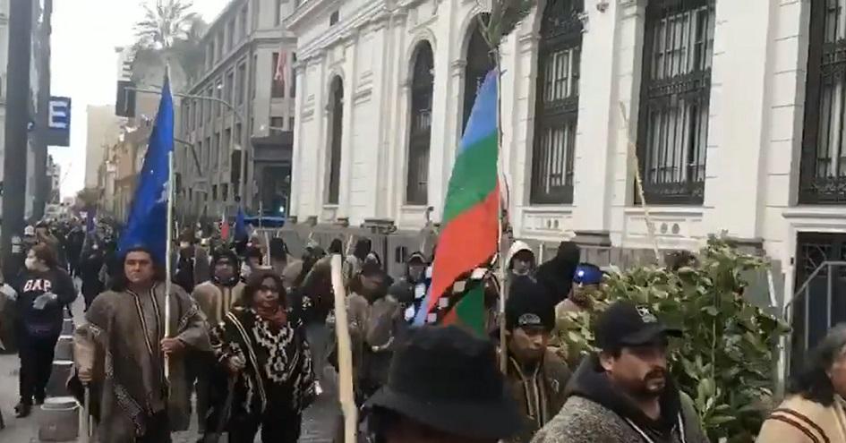 Las protestas de comunidades de Malleco en la Convención: Los tratados mapuche y los derechos de los Pueblos Originarios