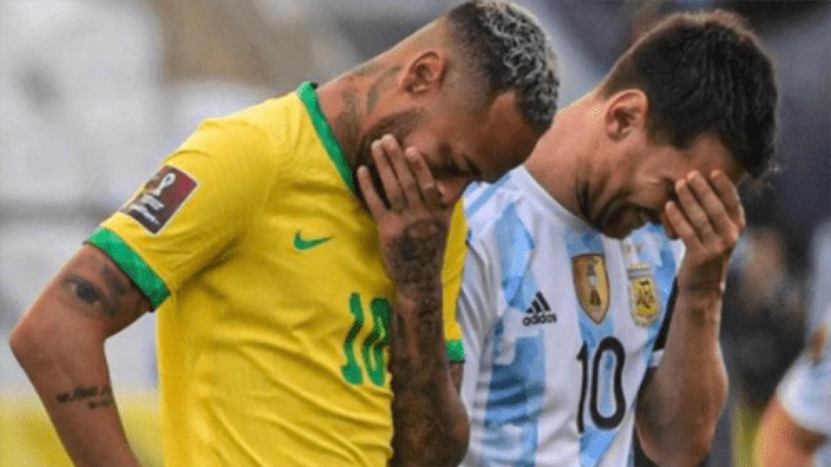 (Video) Autoridades brasileñas irrumpen en partido de eliminatorias Argentina vs Brasil y suspende a 4 jugadores