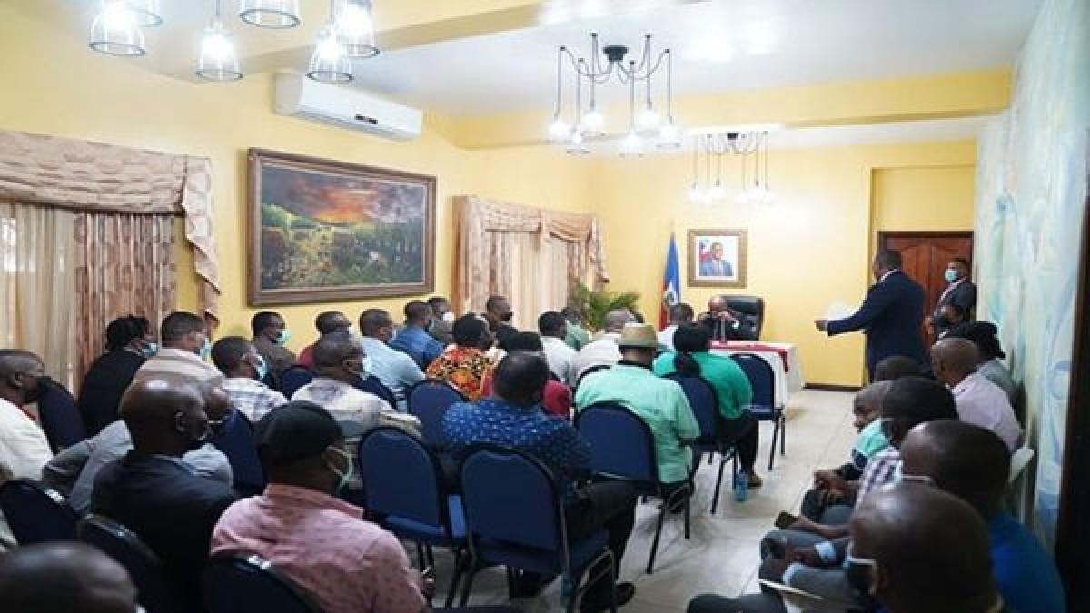 Primer ministro de Haití sostiene reunión con sectores de la oposición
