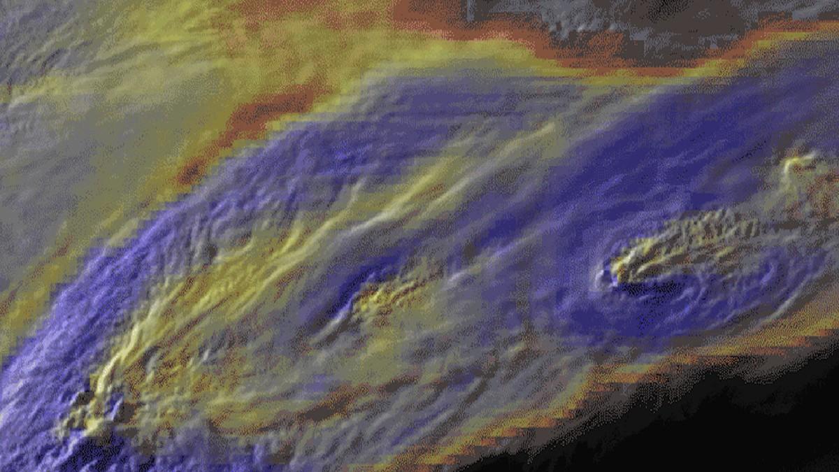Estudio propone patrón para predecir súpertormentas atmosféricas