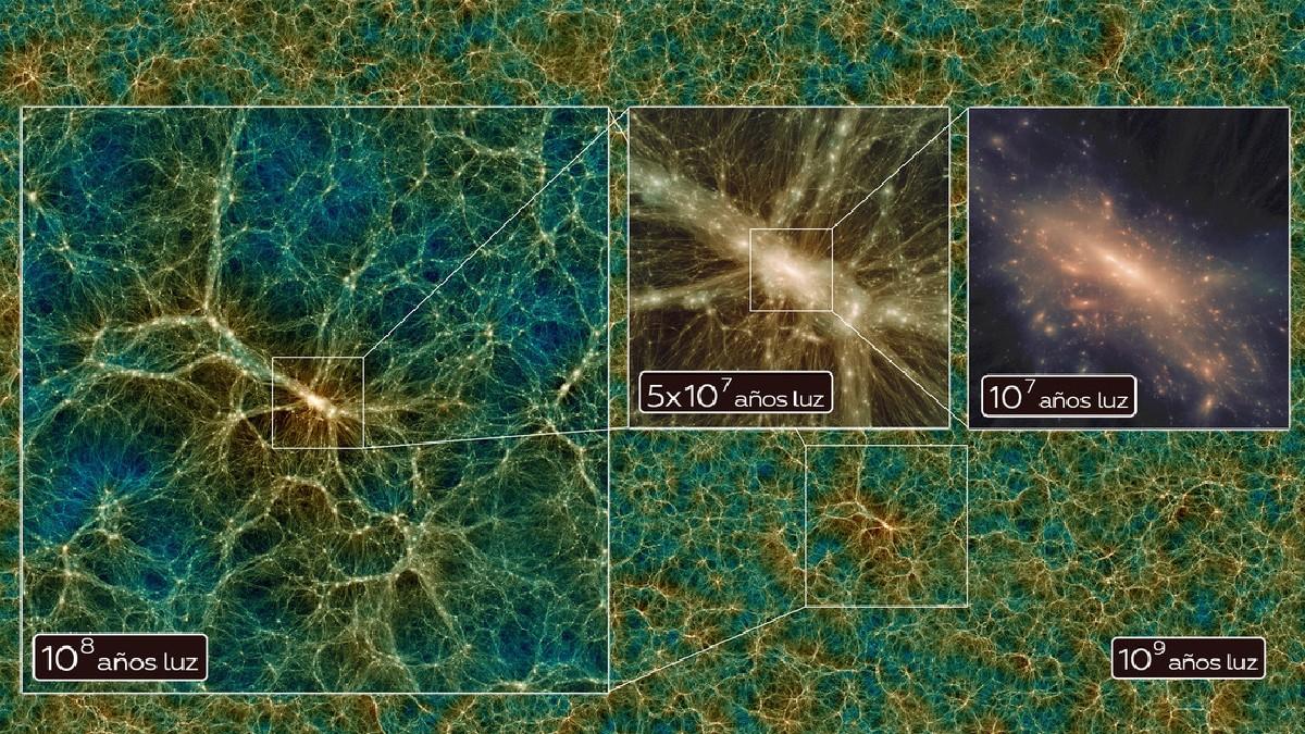 Investigadores recrean la simulación del universo más exacta hasta el momento