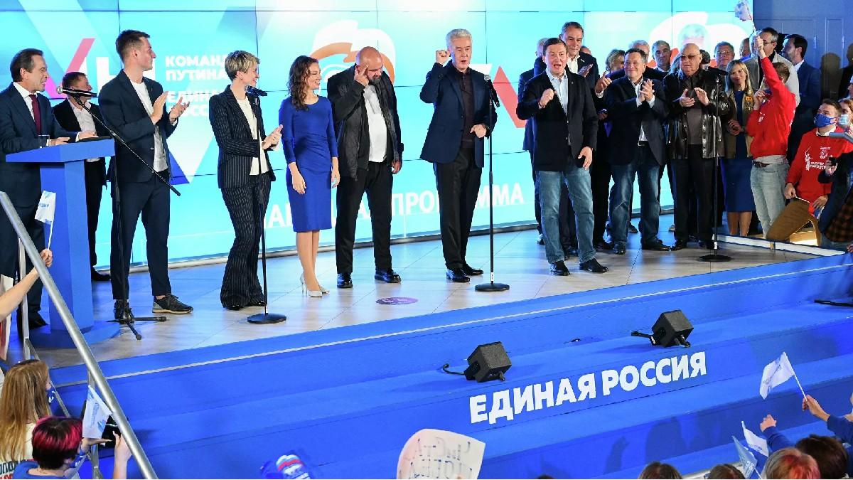 Partido oficialista logra mayoría parlamentaria en elecciones rusas