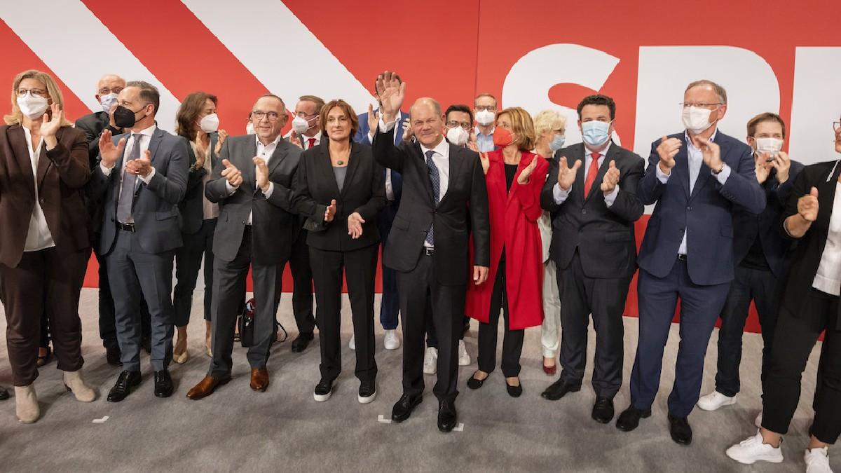 Partido Social Demócrata gana elecciones federales en Alemania