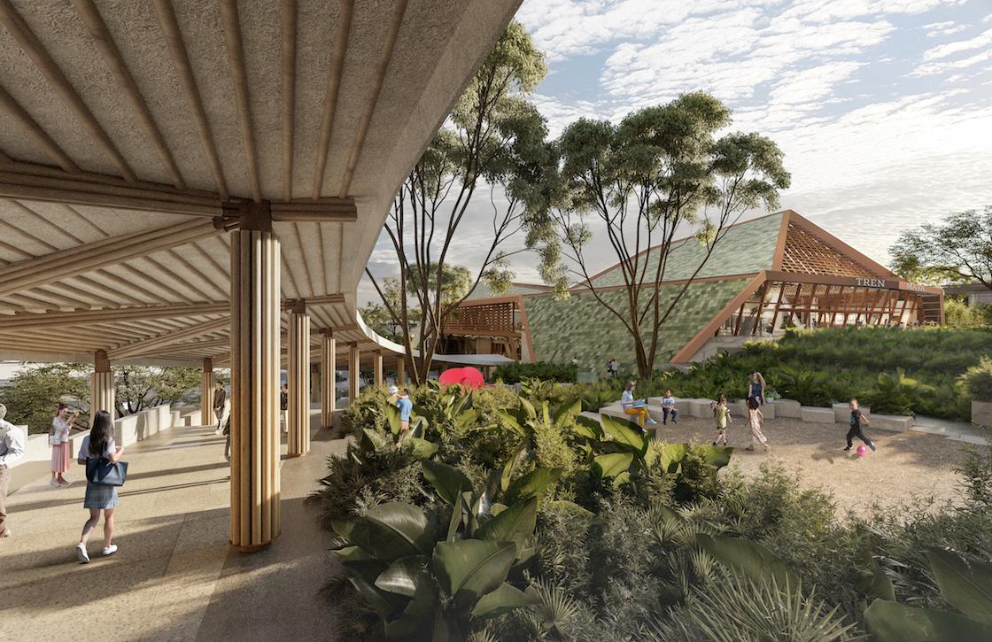 Así serán los andenes del nuevo Tren Maya
