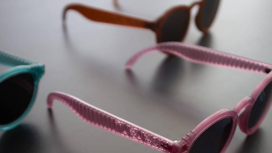 Reciclaje fashionista y los lentes 'Tukuna', el retorno a la vida de la basura plástica