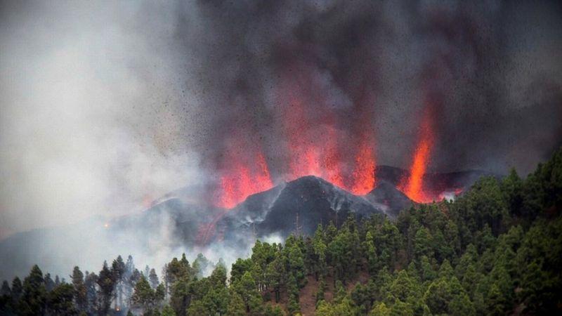 Volcán isla La Palma