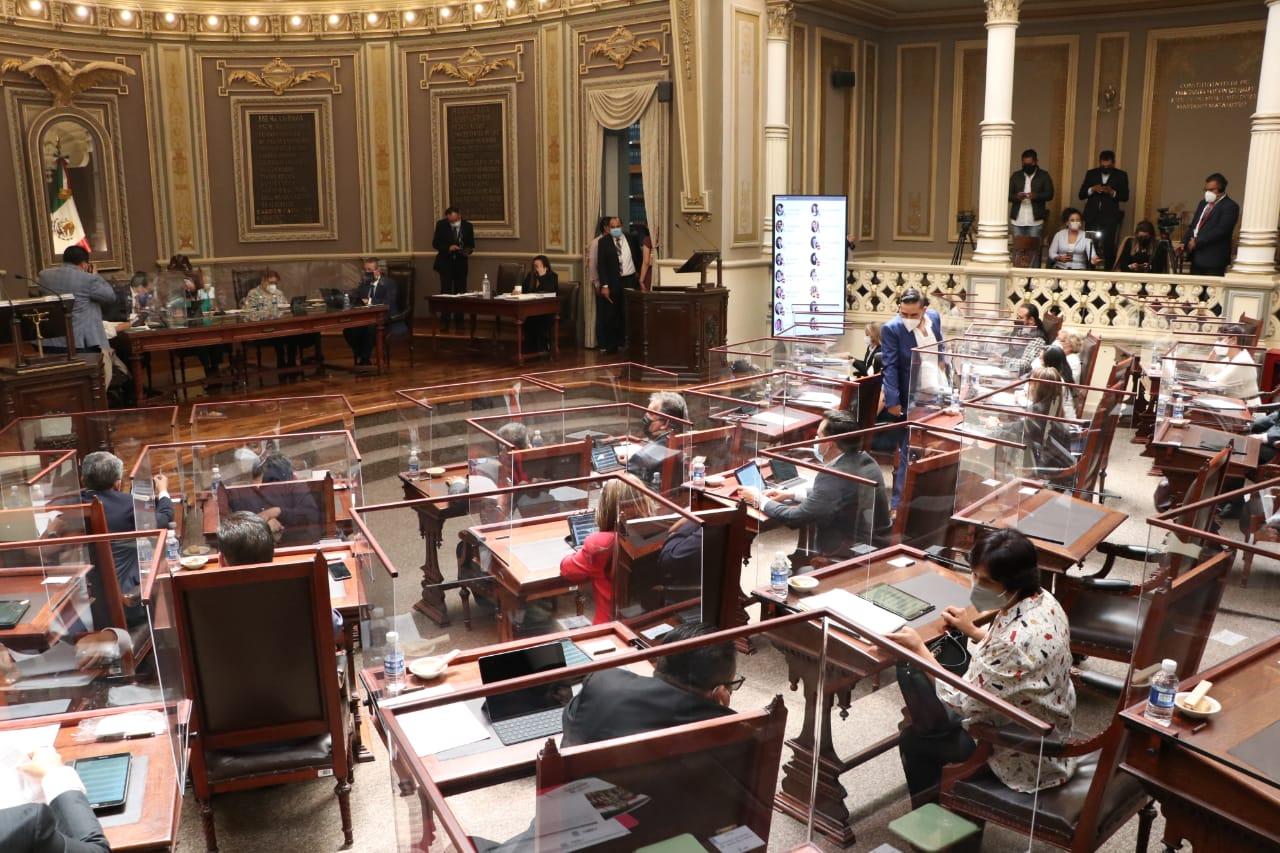 Congreso local aprueba elección extraordinaria en Tlahuapan