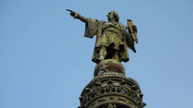 Reubicarán estatua de Colón en Parque América de colonia Polanco