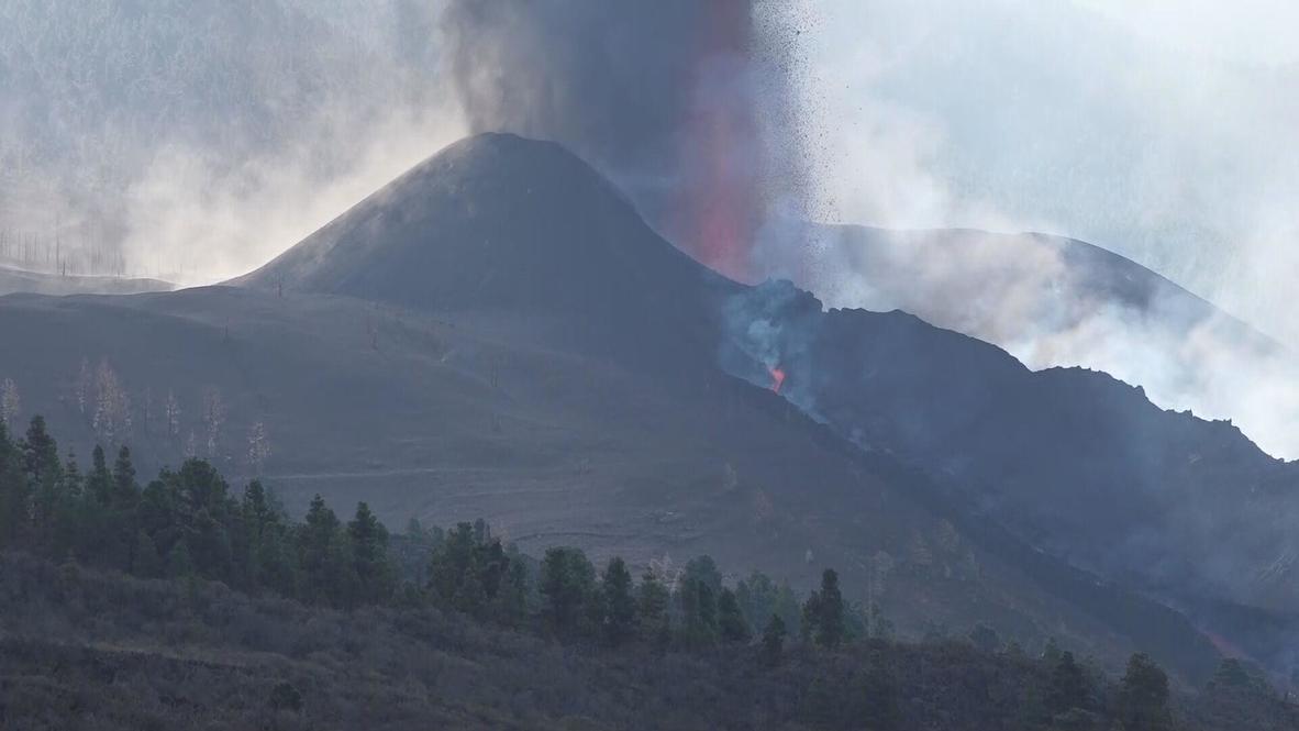 Volcán Cumbre Vieja entra en fase más explosiva y angustiosa para la población
