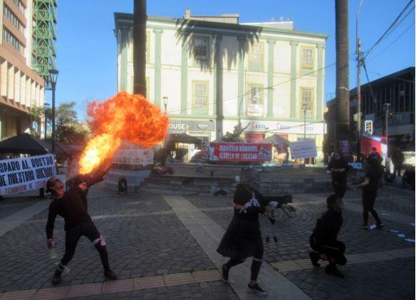 Marcelo Barrios vive en el fuego de la rebeldía
