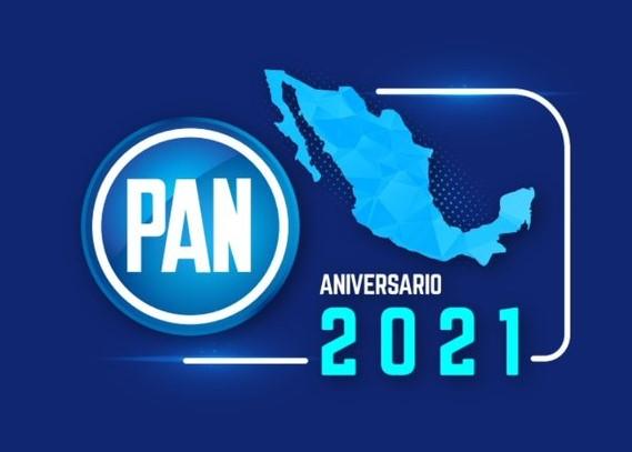 """""""La sociedad no quiere ver un partido conservador y elitista""""; celebran 82 años del PAN en Puebla"""