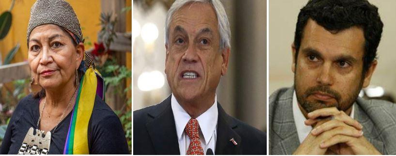 """""""Presidente, no desinforme"""": Loncon y Bassa cargan contra Piñera por acusar a la «mayoría de constituyentes» de debilitar «gravemente a la familia»"""