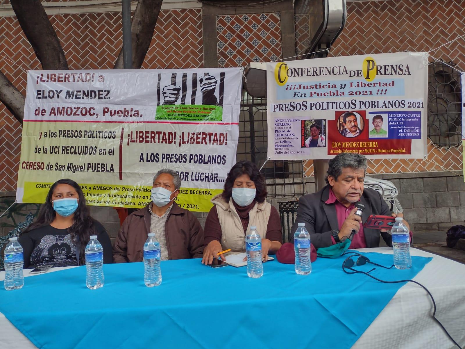 Demanda comité humanitario amnistía local para presos políticos
