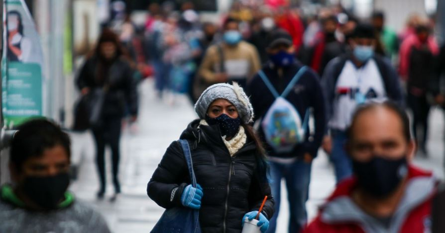 Entra primer frente frío de la temporada al país