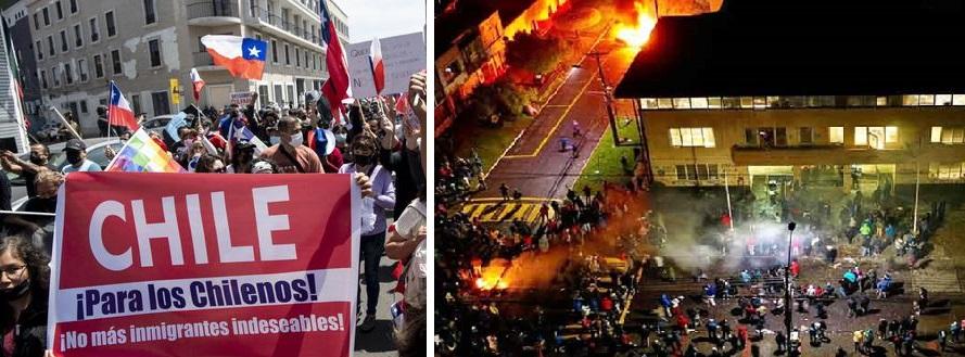 Racismo y xenofobia en Chile: De Iquique a la Araucanía