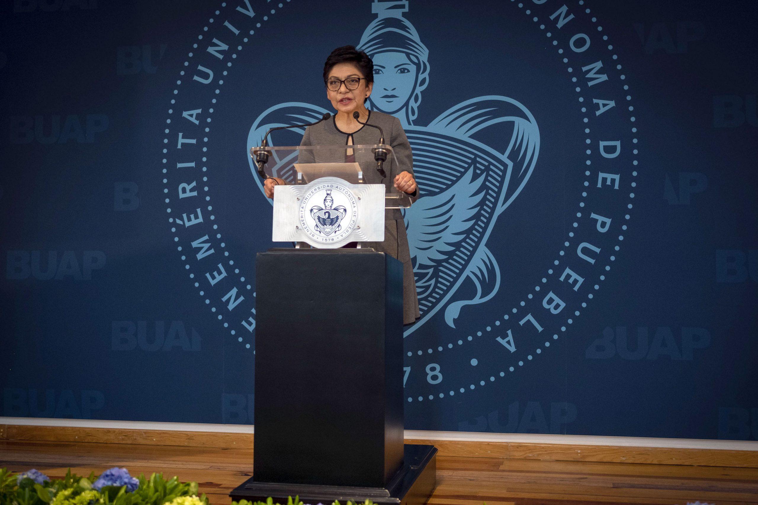 Planea gobierno de Puebla reunión con nueva rectora de la BUAP