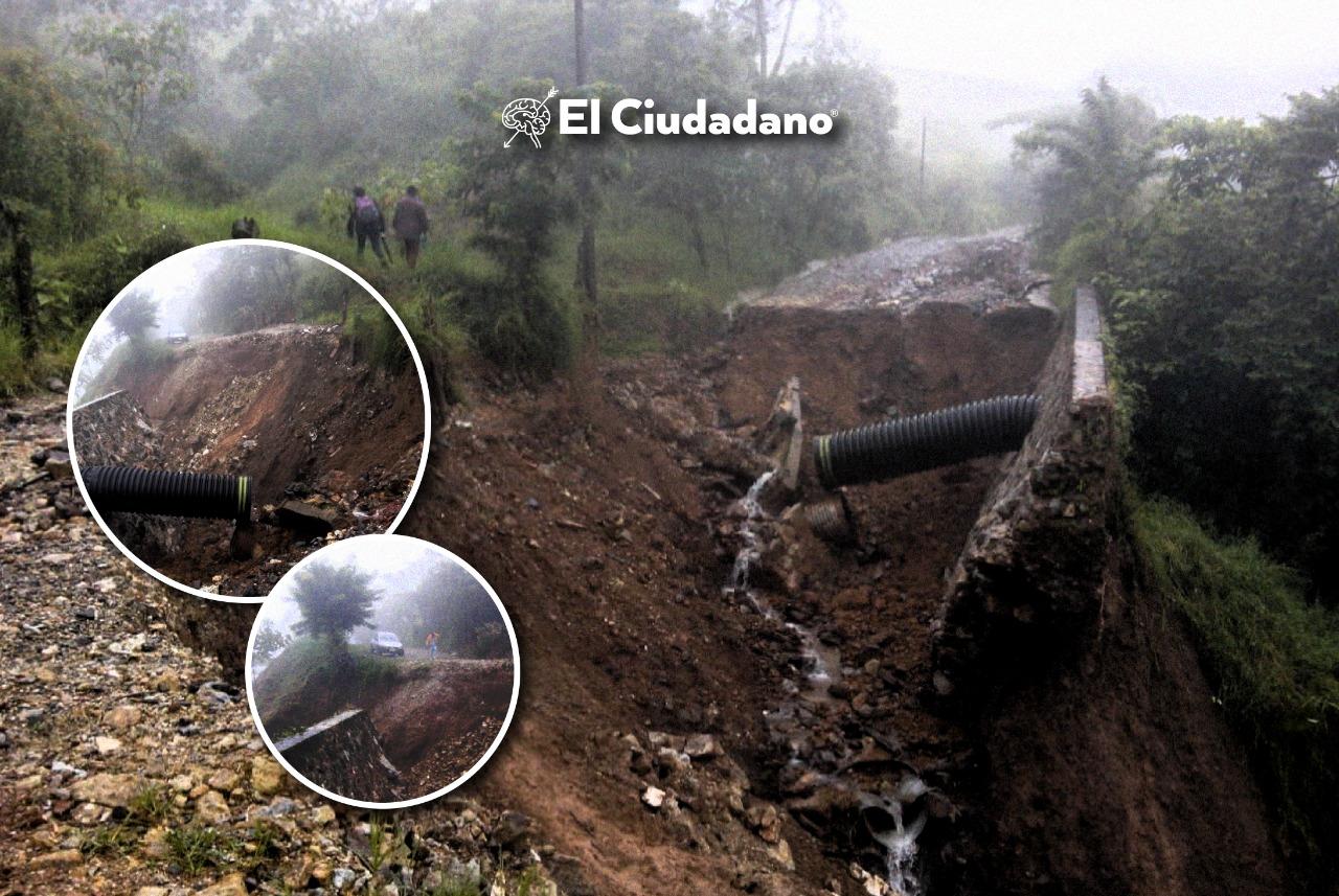 Deslave deja incomunicados a San Felipe Tepatlán y Altica