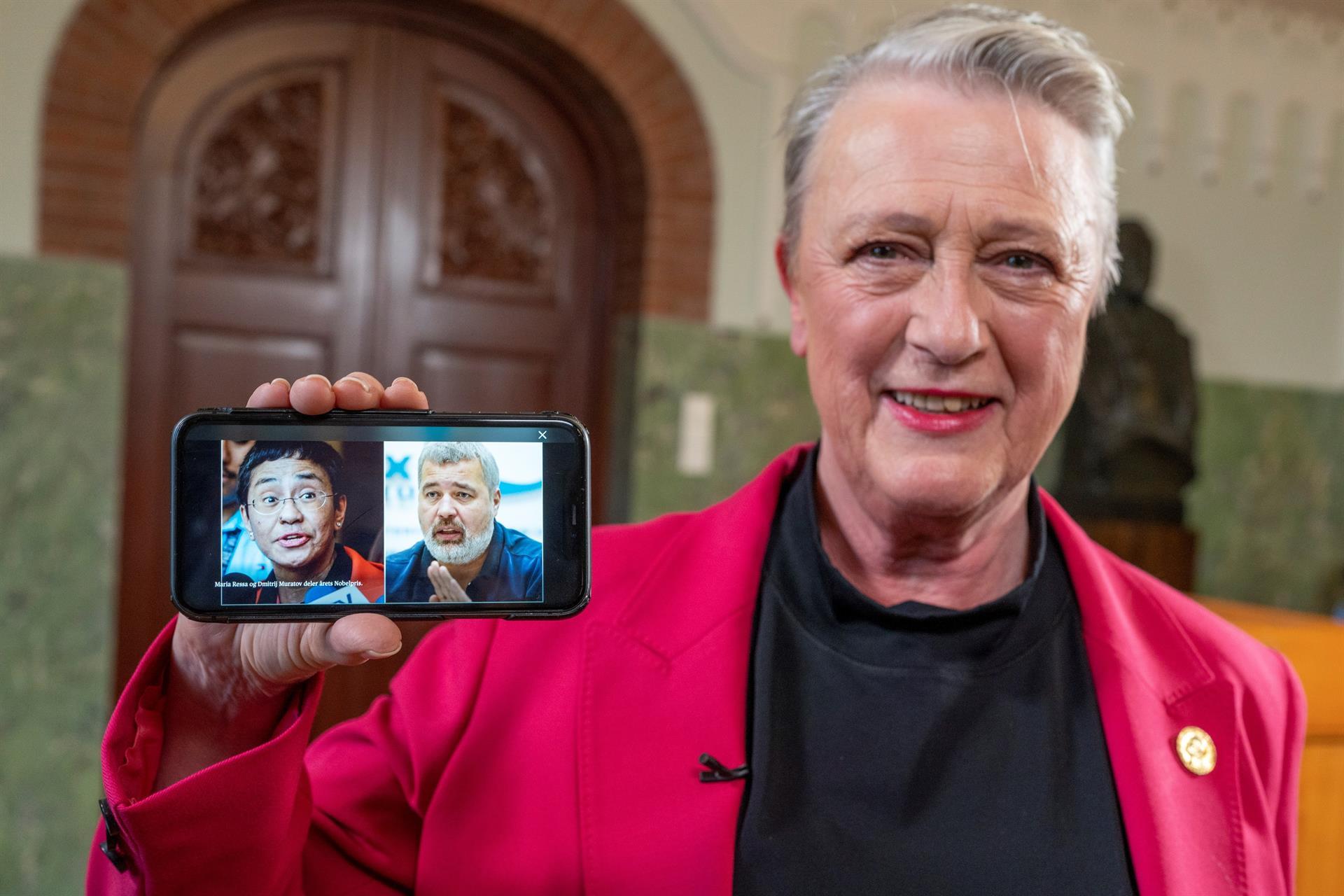 Aplaude gremio asignación de Nobel de la Paz a dos periodistas