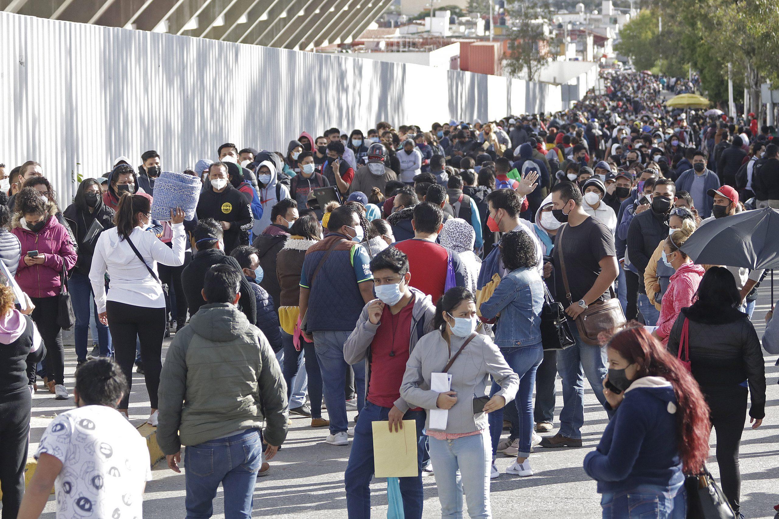 El 60% de población en Puebla, vacunada contra covid-19