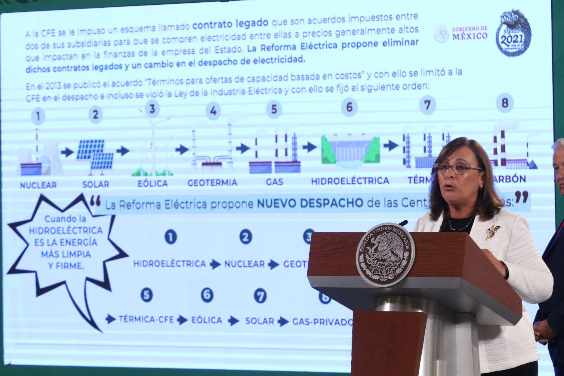 «Reforma eléctrica» mantendría tarifas por debajo de inflación