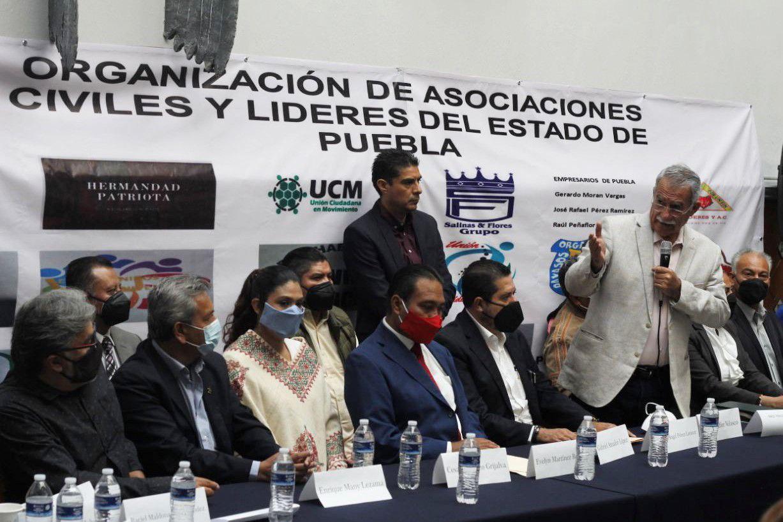 Asociaciones Civiles y Líderes del Estado de Puebla desean trabajar sin bloqueos