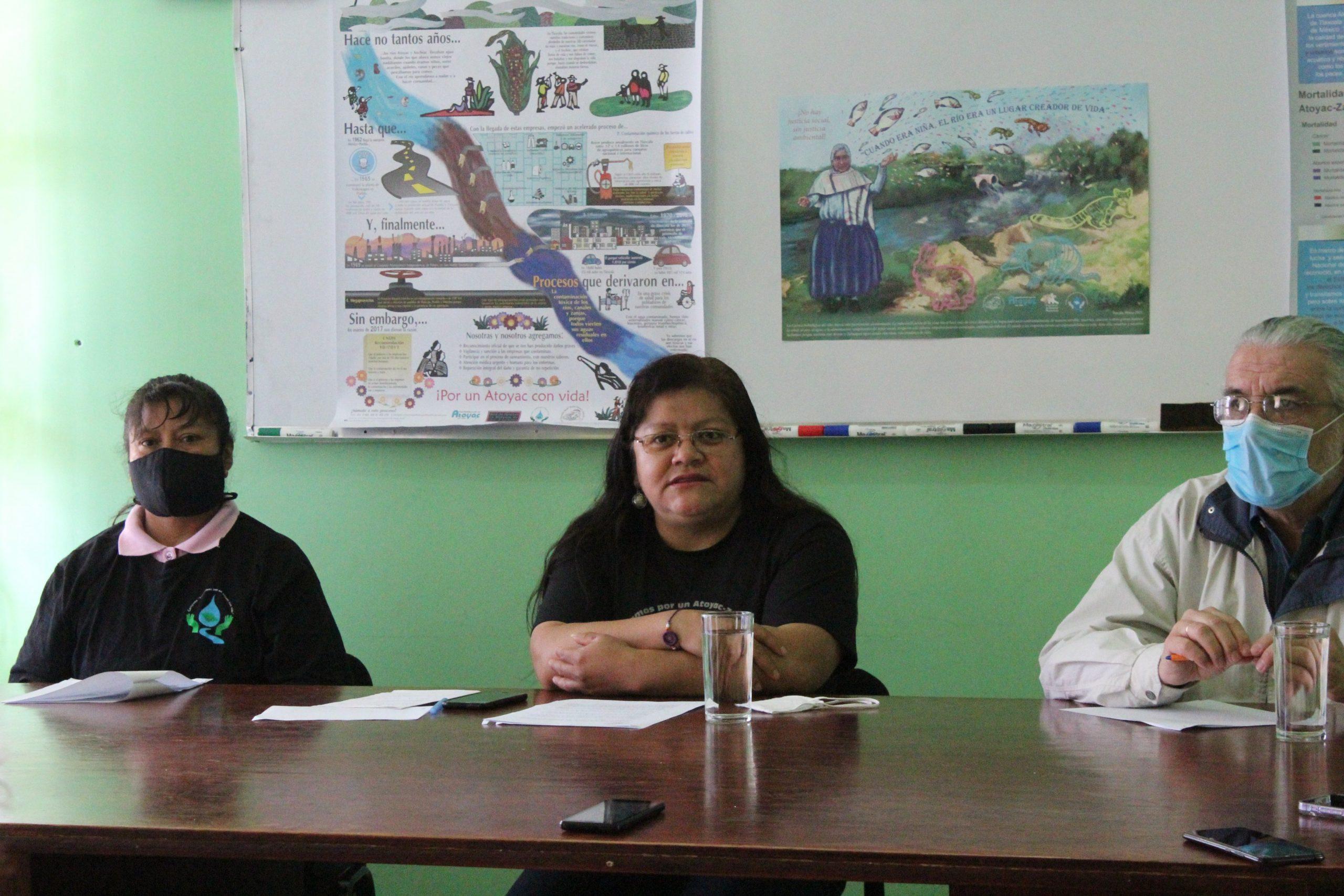 Centro Fray Garcés llama a la CNDH a no dar por cumplida la recomendación de saneamiento del Atoyac