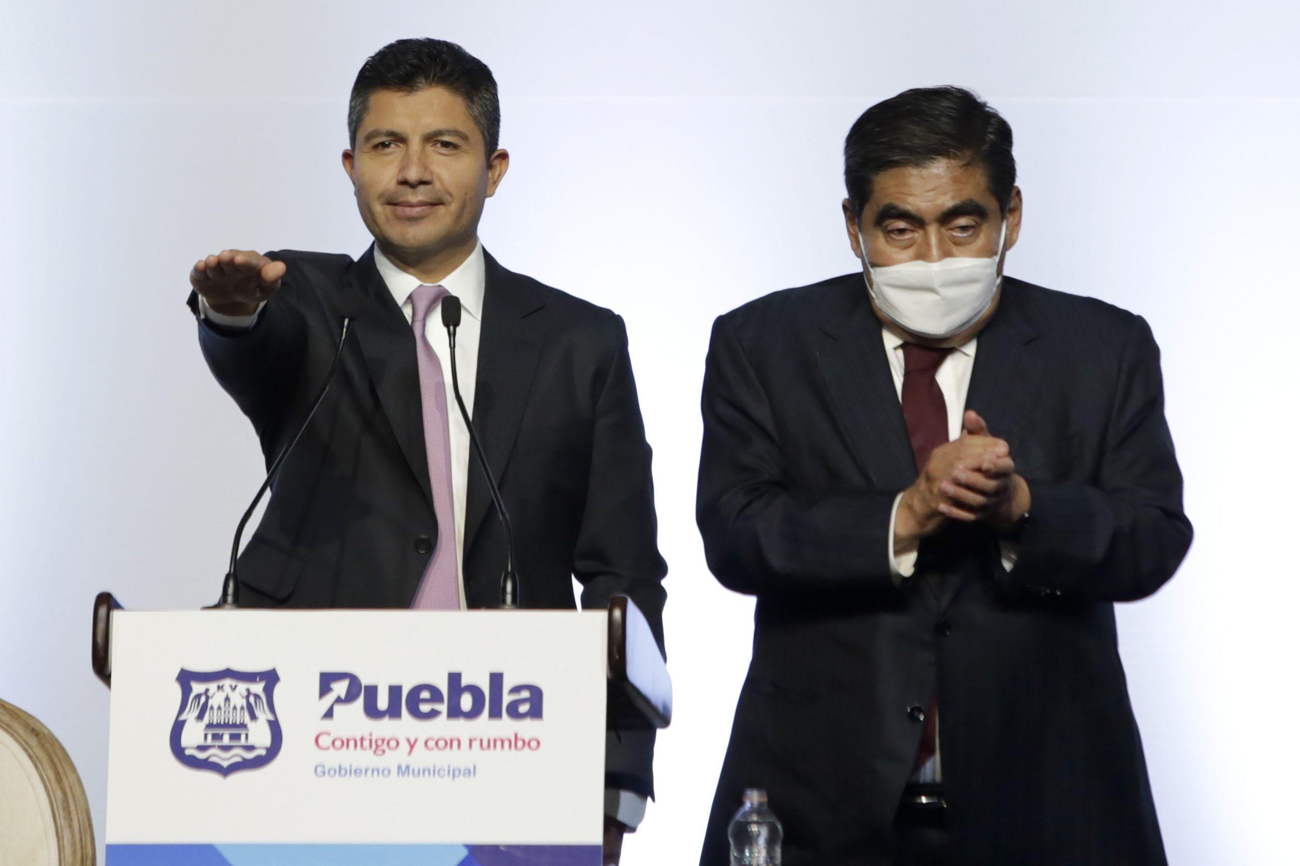 Arranca segunda gestión de Eduardo Rivera como alcalde de Puebla