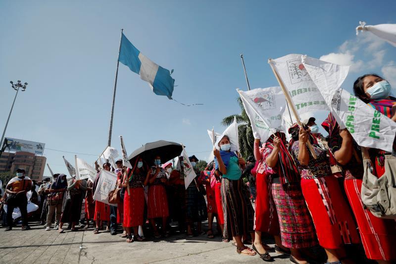 En Guatemala marcharon contra la discriminación de pueblos indígenas