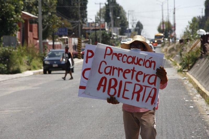 Apertura autopista México Puebla 3
