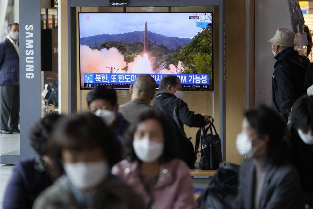Corea del Norte lanzamiento misil