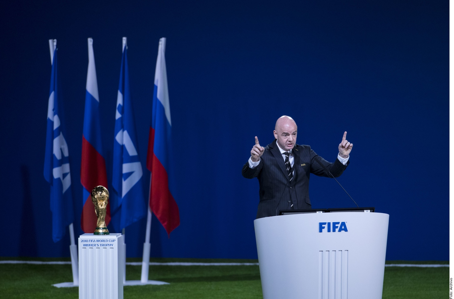 Costumbre idiota: presidente de FIFA  sobre el grito homofóbico