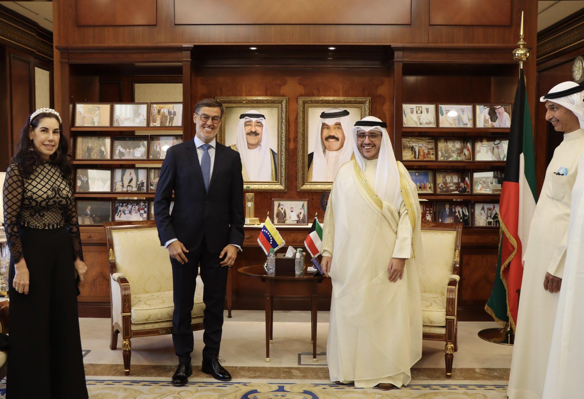 Venezuela y Kuwait firman acuerdo de cooperación en arte y cultura
