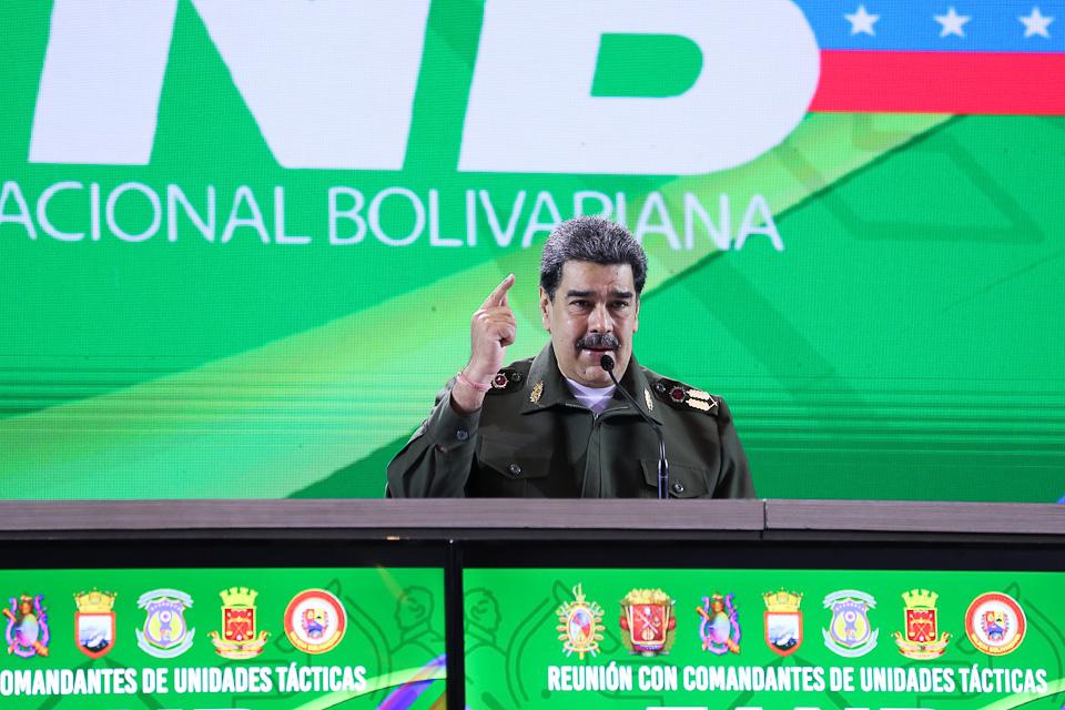 Venezuela tierra libre de TANCOL: Maduro ordena ajustar planes para liberar al país del terrorismo colombiano