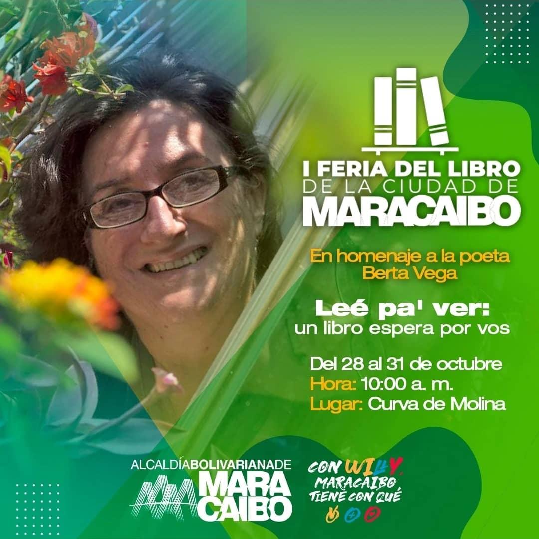 «Leé pa' ver»: Feria del Libro de Maracaibo se celebrará del 28 al 31 de octubre en Venezuela