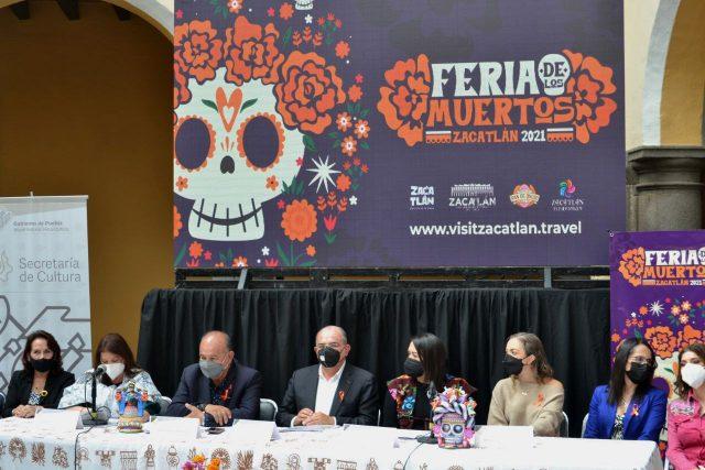 Feria de los muertos Zacatlan 2021 1