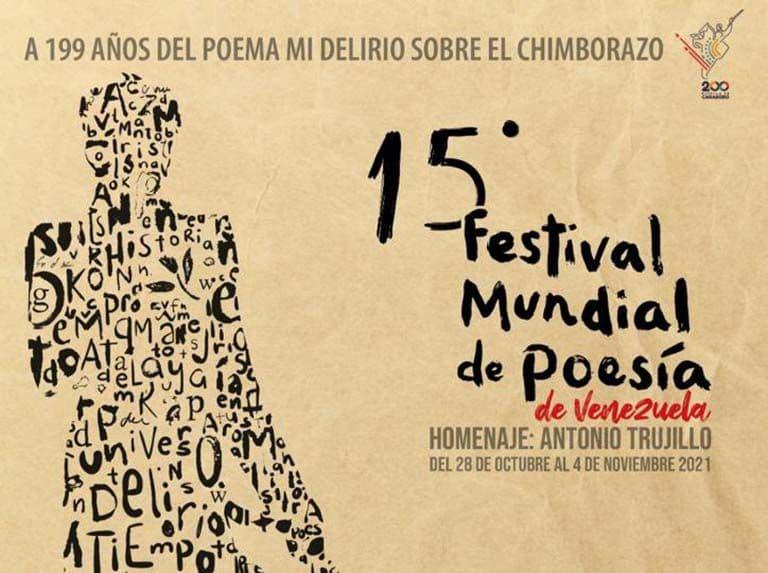 Venezuela abriga su XV Festival Mundial de Poesía