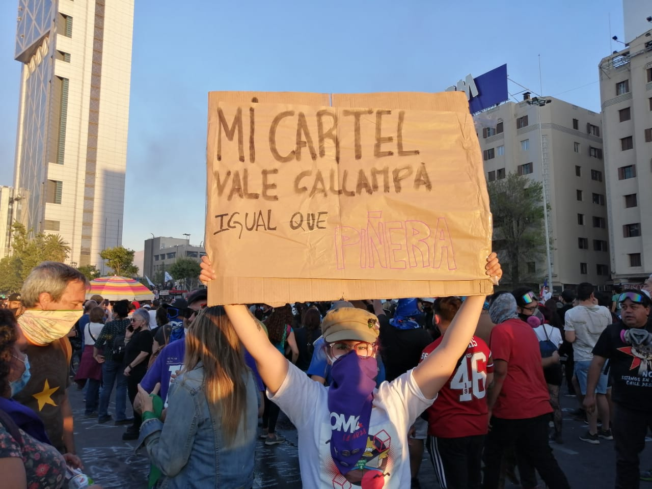 18 de Octubre: Miles de personas se manifestaron en todo el país a dos años del inicio de la revuelta
