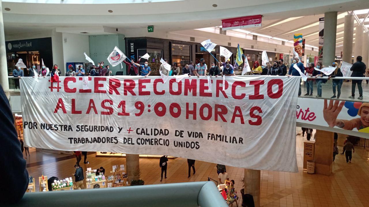 Nueva manifestación por el cierre del comercio a las 19 horas: «Por nuestra seguridad y salud mental lo necesitamos, somos personas»