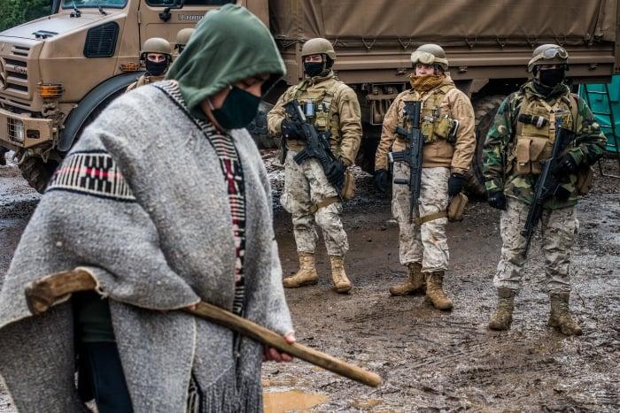 Comunidad Temucuicui llama a la desobediencia ante militarización de su territorio