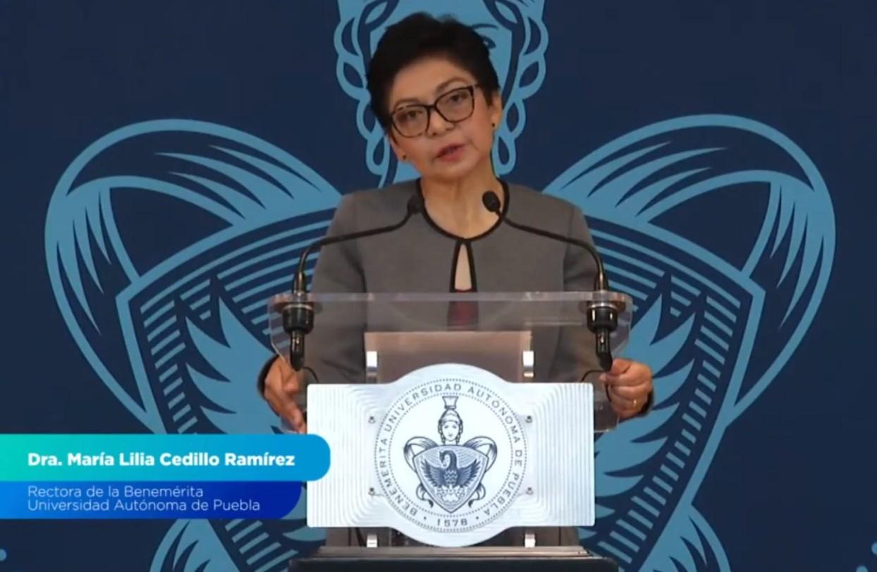 Rinde protesta Lilia Cedillo como rectora de la BUAP; promete gestión incluyente
