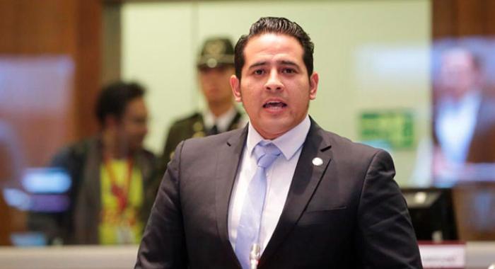 Ronny Aleaga, asambleísta de Ecuador: «Vamos a trabajar hasta al final de todas las instancias para que exista justicia para el pueblo ecuatoriano»