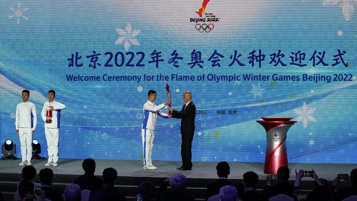Antorcha llega a Beijing para los Juegos Olímpicos de Invierno 2022