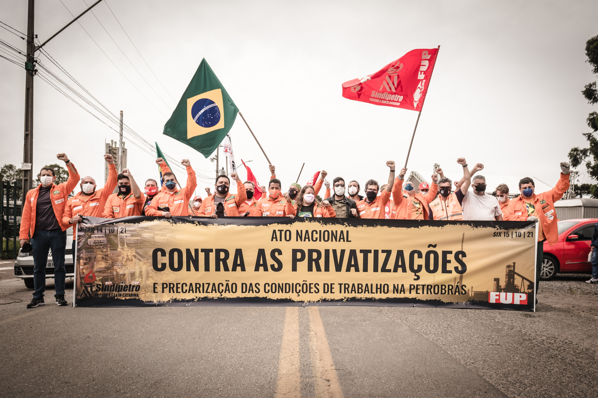 Trabajadores petroleros harán huelga nacional si Bolsonaro privatiza Petrobras