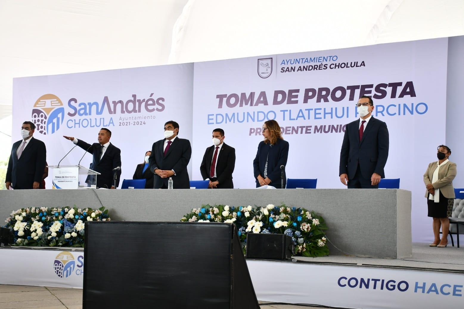 El PAN regresa a San Andrés; Edmundo Tlatehui rinde protesta