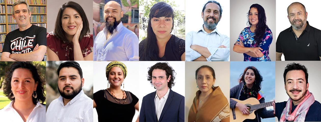 «La Lista de la Cultura» suma nuevas candidaturas en todo Chile