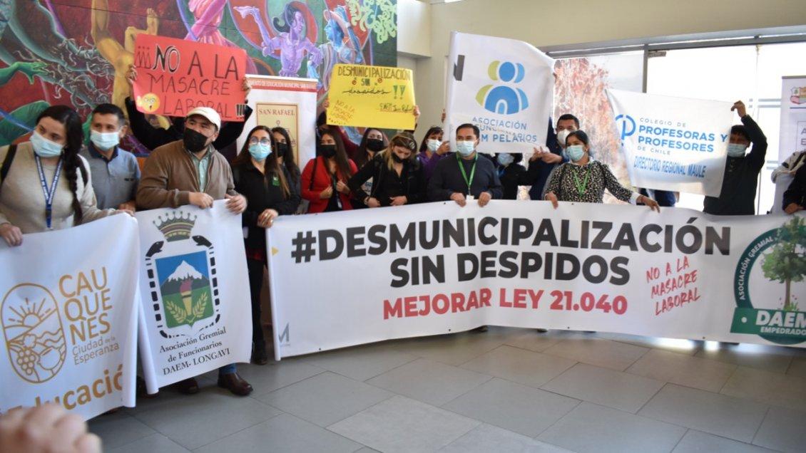 Desmunicipalización de la educación: Alcaldes del Maule pidieron aplazar el proceso en su región