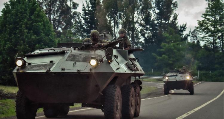 Temucuicui llama a resistir la militarización del Wallmapu