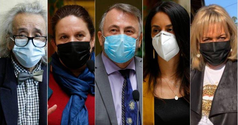 Dos diputados oficialistas y tres de la oposición revisarán acusación constitucional contra Piñera